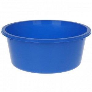 Таз круглый «Кливия», 20 л, цвет синий