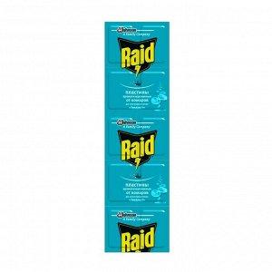 Пластины от комаров Raid «Эвкалипт», 10 шт.