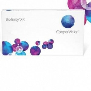 1-мес контактные линзы Biofinity XR (3 линзы)