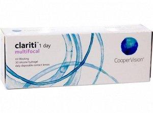 Однодневные контактные линзы Clariti 1 Day Multifocal (8.6) 30 линз