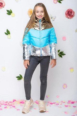 Куртка мята (голубой)