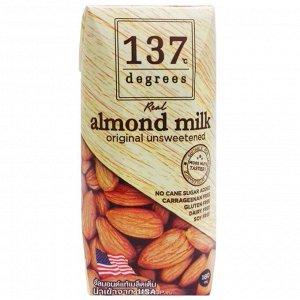 Миндальное молоко без сахара 137 Degrees 180 мл