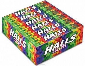 Леденцы Halls Colors Ассорти (12 Упаковок)
