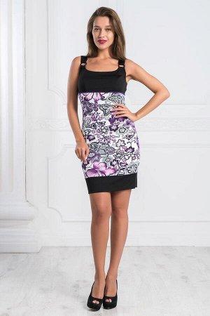 Платье Стелла (фиолетовый)