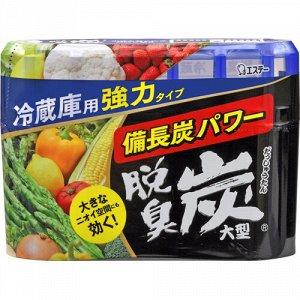 """""""ST"""" """"Dashshuutan"""" Желеобразный дезодорант с древесным углем """"Бинчотан"""" для холодильника (основная камера) 240 г."""
