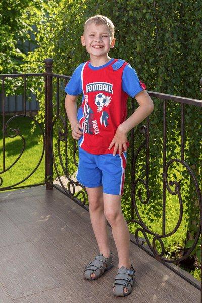 ⭐ Стиляж-100 ⭐Улётный детский трикотаж❗ Новинки ❗ — Летние костюмы для мальчиков — Костюмы и комбинезоны