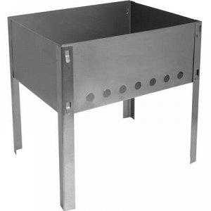 Мангал 300х240х300 мм, сборный, без шампуров в коробке