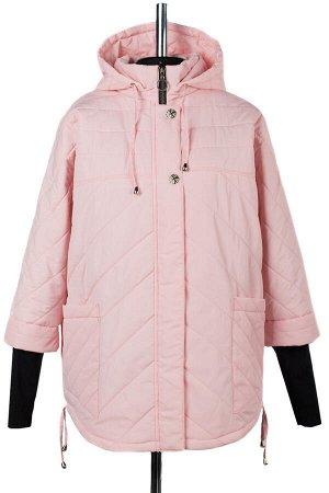 04-2223 Куртка демисезонная (синтепон 150) Плащевка розовый