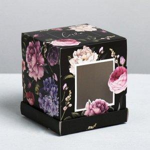Коробка 10 Распродажа! Полная цена 70 р.Коробка Love, 9 × 10 × 9 см. С окошком. Сборная.