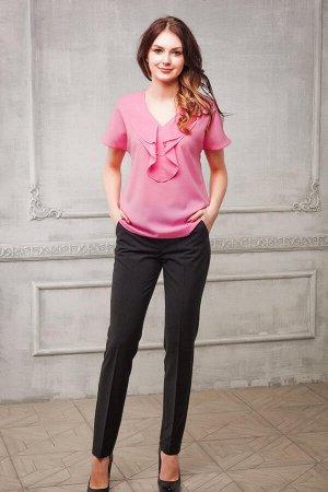 Блуза цвет розовый