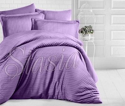 Постельное белье Stasia, комплекты, одеяла,покрывала — Страйп-Сатин, Сатин-Жаккард — Постельное белье