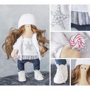 Интерьерная кукла «Лея», набор для шитья, 18.9 ? 22.5 ? 2.5 см