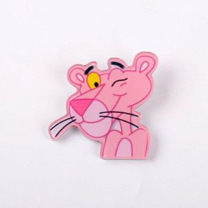 Акриловый значок Розовая Пантера 03