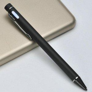 Стилус Стилус для телефонов, планшетов. Для рисования. Высоко чувствительное перо 2мм. Габариты 130*8,5 мм. Не требует подключения Bluetooth. Заряжается через micro USB порт. Время работы до 12 ч.