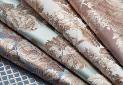 Обивка №29💎 Мебельные ткани и Кожзам (+комплектующие) — Мебельная ткань BEATRICE (Жаккард) — Шторы