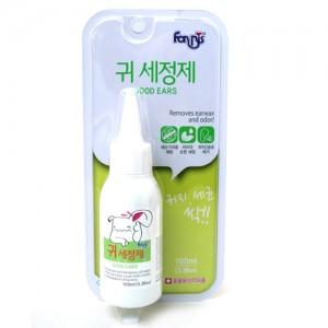 Гигиеническое средство для удаления ушной серы, запаха и предотвращения воспалений и зуда у собак и кошек 0,1л