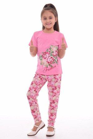 Пижама подростковая 12-034в (розовый),