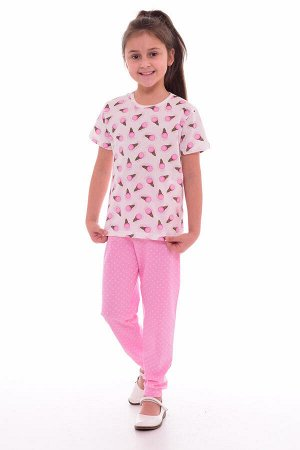 Пижама подростковая 12-036а (розовый)