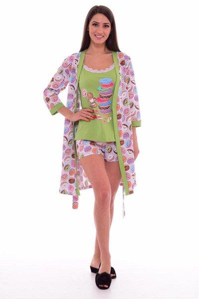 Новое Кимоно - Трикотаж для всей семьи-9 — Женский трикотаж. Комплекты — Одежда для дома