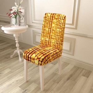 Чехол для стула Блеск золотой