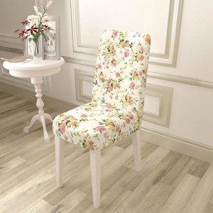 Чехол для стула Ветви роз
