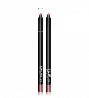 .Lux  карандаш  для губ PIN UP  matt   NEW!! 206  fusion