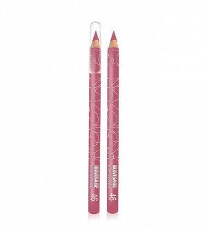 .Lux    карандаш  для  губ   тон  46 розово  сиреневый