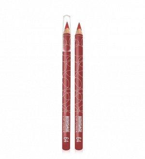 .Lux    карандаш  для  губ   тон   64 красно - коричневый
