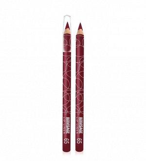 .Lux    карандаш  для  губ   тон   65 темно бордовый