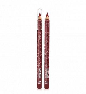 .Lux    карандаш  для  губ   тон   69  вишневый
