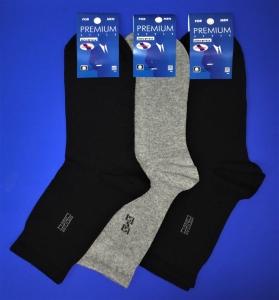 Ростекс носки мужские с лайкрой Премиум В-21-ДС черные