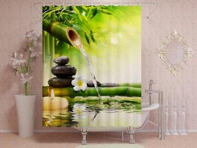 Фотошторы, фототюль и домашний текстиль с фотопечатью (15) — Фотошторы: Для ванной — Шторы