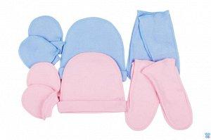 647 Комплект ясельный: шапочка, рукавички, носочки (интерлок,  )
