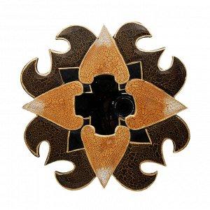 Панно настенное Мозаика с зеркалом 30см Индонезия