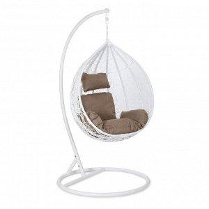 Подвесное кресло Z-11 (цвет white, подушка beige)
