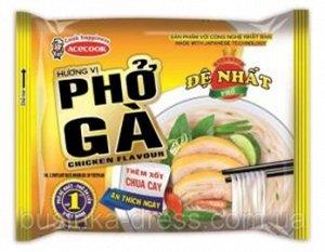 Лапша рисовая со вкусом курицы