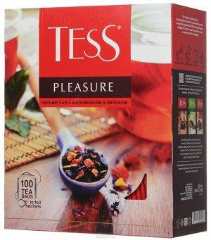 Чай Тесс Pleasure black tea 1,5г 1/100/9