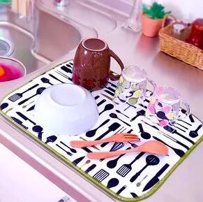 Ликвидация! 💥 Молниеносная раздача 💥 — Коврик для сушки посуды — Аксессуары для кухни