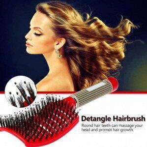 Ликвидация! 💥 Молниеносная раздача 💥 — ХИТ! Расческа с добавлением щетины для мокрых волос — Красота и здоровье
