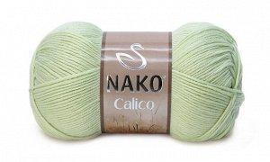 Хлопок Калико цвет молочный, упаковка 5 мотков