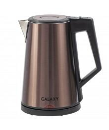 Чайник Galaxy GL 0320 бронзовый (2 кВт, 1,7л, тройн стенка нерж (8/уп)