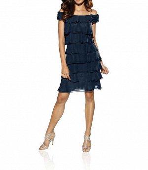 Платье, синее