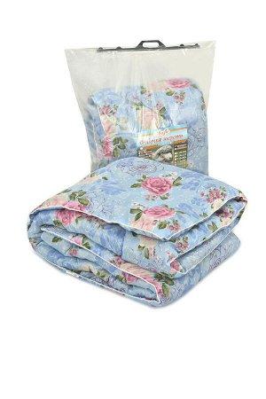 Одеяло Одеяло стёганое 2-спальное с наполнением из прочеса овечьей шерсти, утолщенное - плотность не менее 500 гр/кв.м. Одноигольная стежка, очень теплое. Отделочный элемент - вшивной кант. Упаковка -