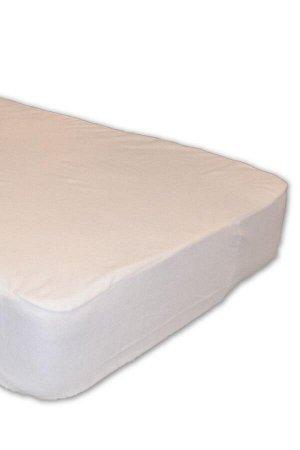 """Чехол Чехол для матраца состоит из двух слоев: верхний из махрового полотна из 100% хлопка, нижний 100% влагонепроницаемое покрытие """"Мембрана"""". Борт чехла изготовлен из петельчатой махры. Высота борта"""