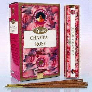 Благовония Ppure 15гр Rose аромапалочки Роза уп-12 шт