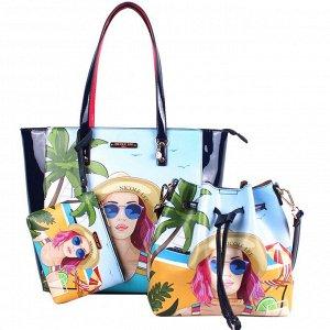 PRT14071 3PC SET  набор сумок