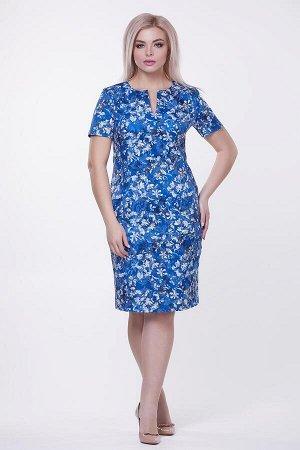 Платье Ассоль №5 .Цвет:синий