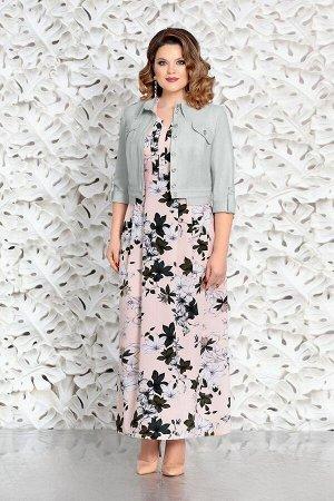 Куртка, платье Mira Fashion 4601-2