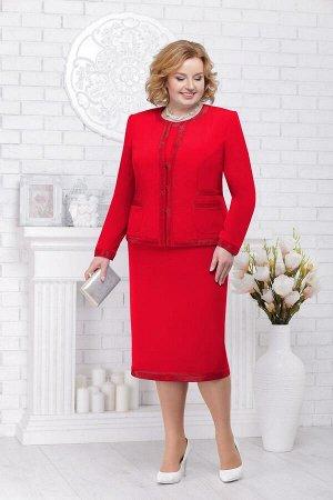 Жакет, платье Ninele Артикул: 7227 красный