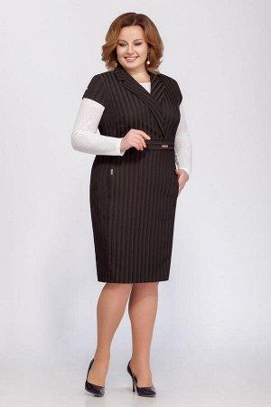 Джемпер, платье LaKona Артикул: 1170 олива